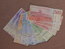 Swedish Krona notes, Sweden. Swedish Krona banknotes money SEK, currency of Sweden Stock Photography