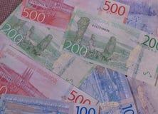 Swedish Krona notes, Sweden. Swedish Krona banknotes money SEK, currency of Sweden Stock Photo
