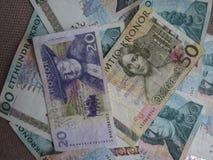 Swedish Krona notes, Sweden. Swedish Krona banknotes money SEK, currency of Sweden Stock Image