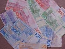 Swedish Krona notes, Sweden. Swedish Krona banknotes money SEK, currency of Sweden Royalty Free Stock Photos