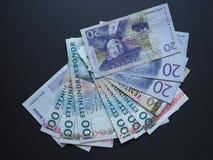 Swedish Krona and Norwegian Krone notes. Swedish Krona SEK, currency of Sweden and Norwegian Krone NOK notes Stock Photo