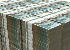 Swedish Krona Notes Pile Royalty Free Stock Photography