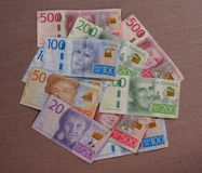 Swedish Krona notes, Sweden. Swedish Krona banknotes money SEK, currency of Sweden Royalty Free Stock Image