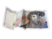 Swedish Kronor Stock Image