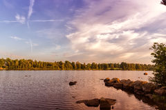 Swedish Lake Stock Photo