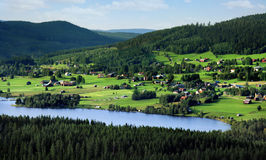 Swedish landscape Royalty Free Stock Photo