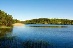 Swedish landscape on the west coast Royalty Free Stock Photo