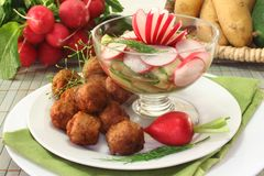 Swedish meatballs Royalty Free Stock Photography