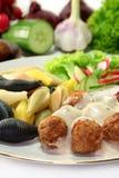 Swedish meatballs Stock Image