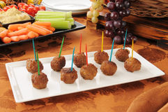 Swedish meatballs Royalty Free Stock Images