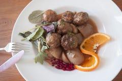 Swedish Meatballs Stock Photography