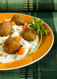 Swedish meatballs Stock Photos