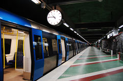 Swedish metro Royalty Free Stock Photo