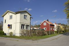 Swedish middle class home Stock Photography