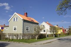 Swedish middle class home Royalty Free Stock Images