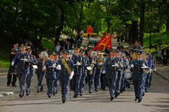 Swedish military band Stock Images