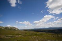 Swedish mountains Royalty Free Stock Photo