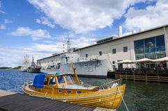 The Swedish National Naval Museum Karlskrona Stock Images