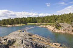 Swedish nature Stock Photo