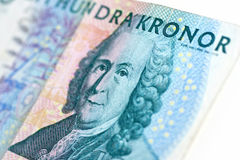 Swedish one hundred bill Royalty Free Stock Photos