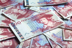 Swedish paper currency Royalty Free Stock Photography