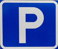 Swedish parking sign Royalty Free Stock Photography