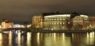 Swedish Parliament Stock Photos