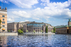 Swedish parliament, Stockholm Royalty Free Stock Photos