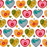 Swedish pattern design Stock Images