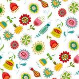 Swedish pattern design Royalty Free Stock Image