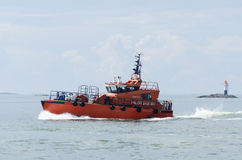 Swedish pilot boat Stock Photo