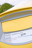 Swedish post box Royalty Free Stock Image