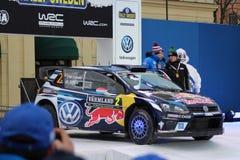 Swedish rally 2016 Stock Photo