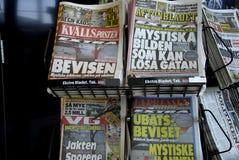 SWEDISH DAILY REACTION Stock Photos