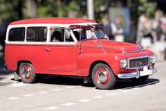 Swedish retro car Royalty Free Stock Photo