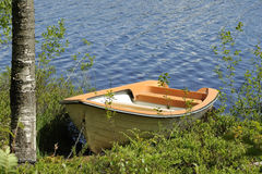 Swedish rowing boat Royalty Free Stock Photos