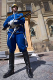 Swedish Royal Guard in traditional uniform Stock Photo