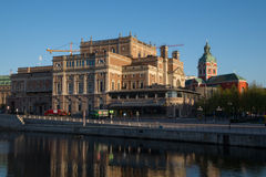 The Swedish Royal Opera, Kungliga Operan, Stockholm, Sweden Stock Image