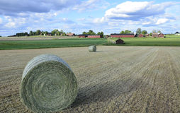Swedish rural farmland Stock Photos