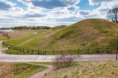 Swedish rural landscape Royalty Free Stock Images