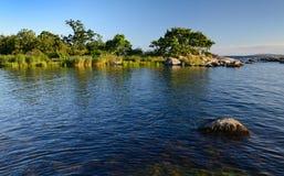 Swedish sea archipelago Royalty Free Stock Photos