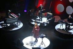 Swedish singer Lisa Nilsson at Kulturens hus in Luleå Stock Image