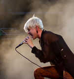 Swedish singer Robyn Royalty Free Stock Photography