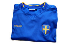 Swedish Soccer T-Shirt Stock Photo
