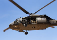 Helicopter at U.S Military Rescue Training Stock Photos