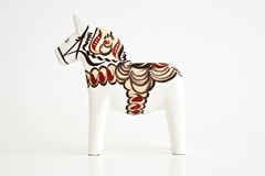 Swedish souvenir 2. Swedish traditional souvenir called Dalahorse Stock Photography