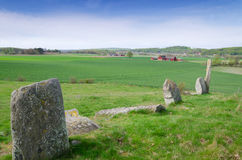 Swedish stonehenge Royalty Free Stock Images