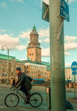Swedish street Stock Image