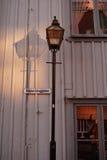 Swedish street lamp Stock Photos