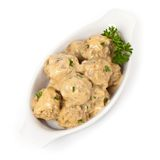 Swedish Style Meatballs Stock Images